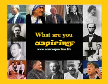 What are you aspiring?