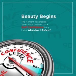 Beauty Begins The Moment You Decide To Be Self-Confident.
